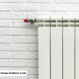 Come sfiatare termosifone di casa