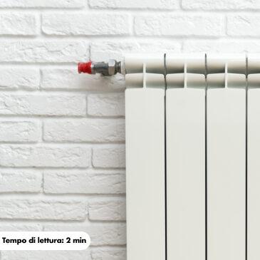 Come eliminare l'aria dai termosifoni?