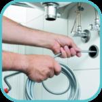 Step 4 - introduci spirale sturatubi per ostruzione tubi di casa